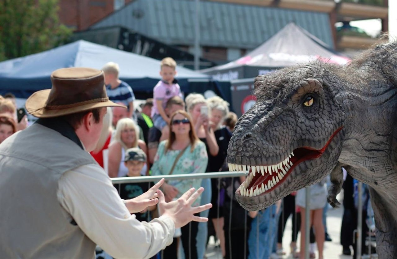 Dinosaurs descend on Ladysmith